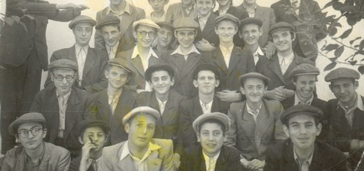Boys from Waitzen before Nazi occupation